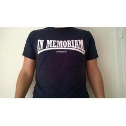 T-shirt Homme Bleu Marine recto avec logo IM en écriture Lonsdale