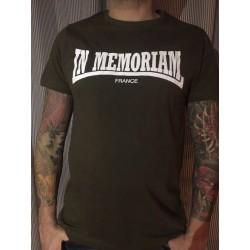 T-shirt Homme Kaki IM Ecriture Lonsdale Recto