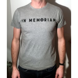 T-shirt Homme Gris recto