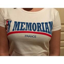 T-shirt Femme Blanc IM Ecriture Lonsdale Recto