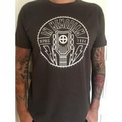 T-shirt Homme Gris Logo IM Recto